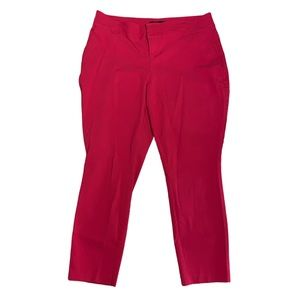 Torrid Red Trousers Size 14
